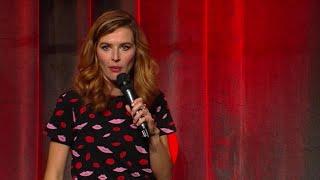 Katrin Bauerfeind als Single auf dem Kindergeburtstag