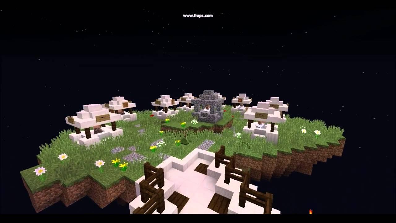 how to make a skyworld