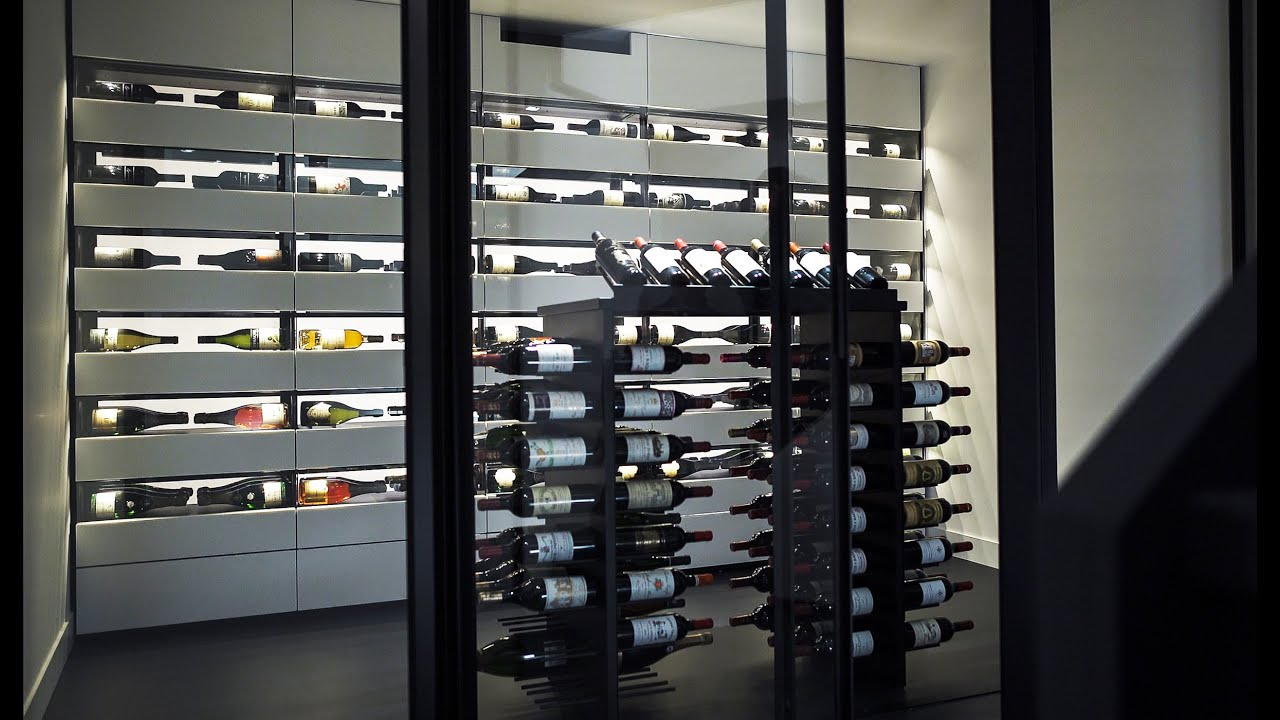 degr 12 design wine cellar leuven 2016 youtube. Black Bedroom Furniture Sets. Home Design Ideas