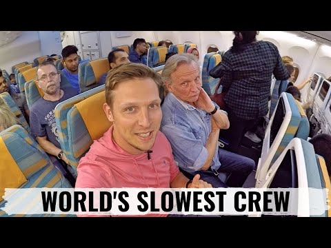 Review: OMAN AIR - Is This The WORLD'S SLOWEST CREW? NOT IMPRESSED.