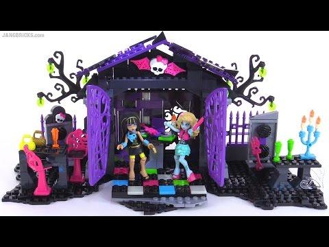 Mega Bloks Monster High Graveyard Garden Party Set Review