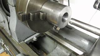THREADING ON THE METAL LATHE WITHOUT A THREAD DIAL
