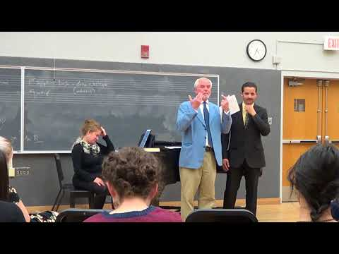 Anthony Michaels-Moore Masterclass at UNM, Part III