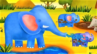 baby learn animals and funny habits of animals fun educational game for kids