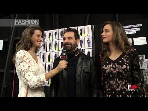 ENNIO CAPASA - COSTUME NATIONAL - B-Twin Interview MFW16 by Fashion Channel