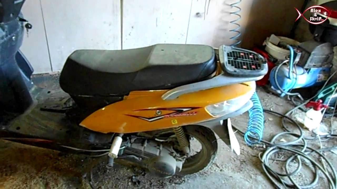 Ремонт скутера хонлинг своими руками