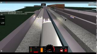 Roblox London Hackney & Limehouse bus simulator on class 315 London overground