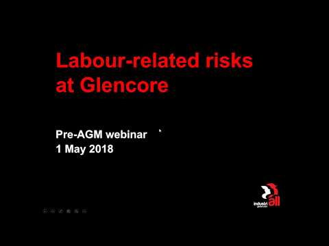 Webinar: Sustainability Risks at Glencore