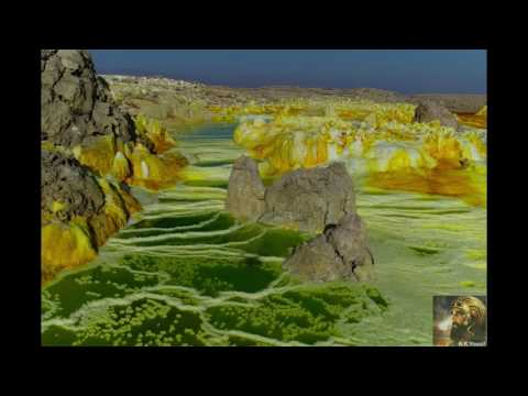 Danakil Depression HD Drone Footage 2017