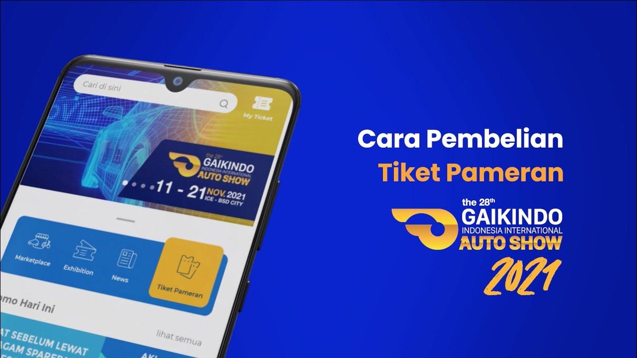 Download Cara Pembelian Tiket GIIAS 2021