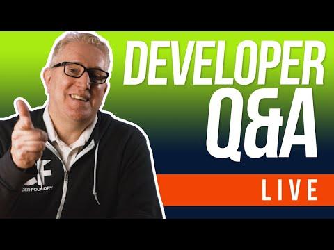 🔴 [LIVE] Web Developer Chat + Q&A