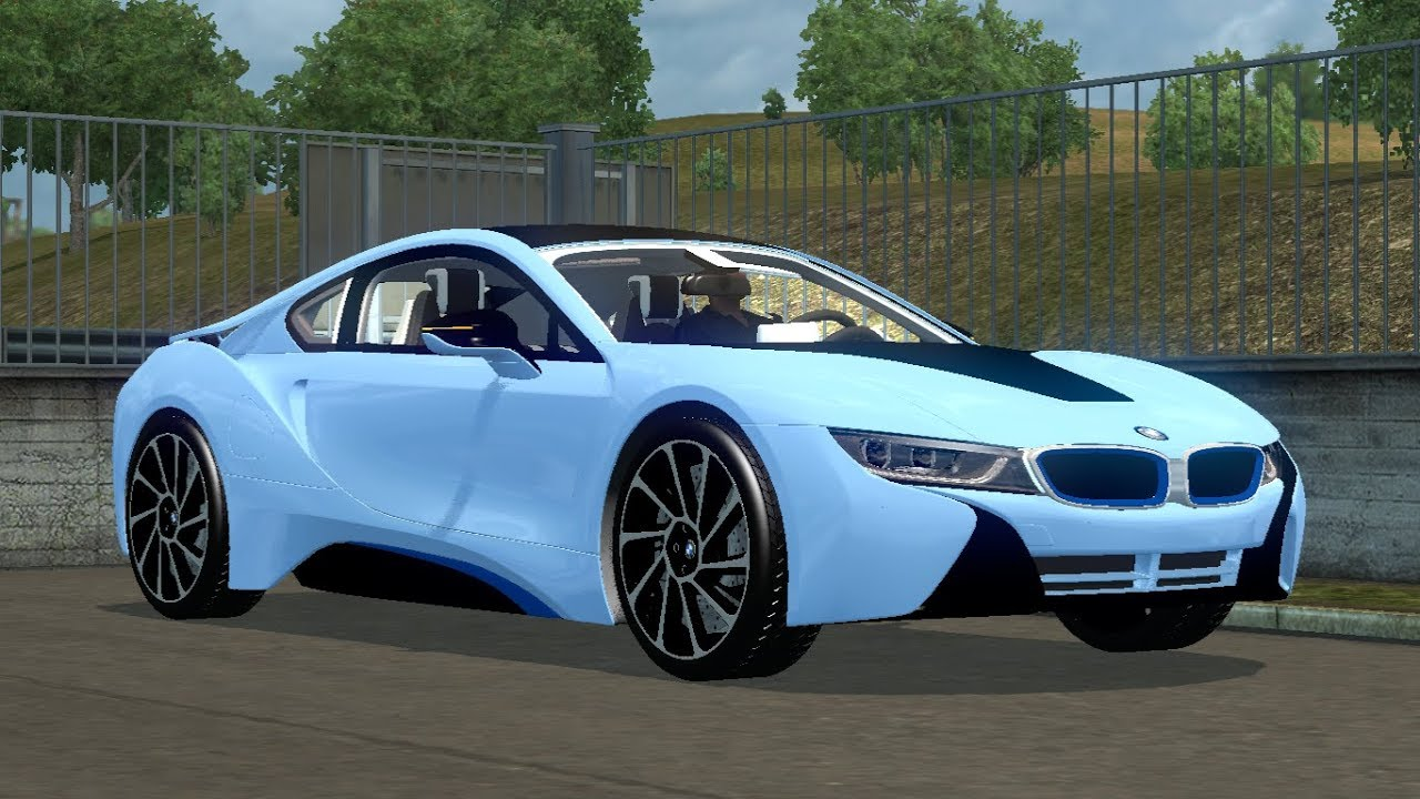 1 30 Euro Truck Simulator 2 Bmw I8 Mods Youtube