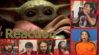 The Mandalorian and 'Baby Yoda' Reaction Mashup