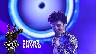 """Shows en vivo #TeamTini: Juan Pablo canta """"Happy"""" de Pharrel..."""