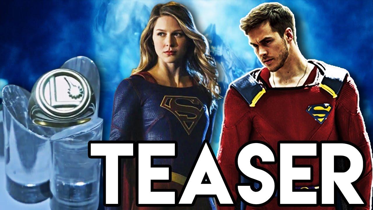 Supergirl Legion Of Superheroes Ring