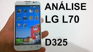lG L70 D325 - Anlise do Aparelho Review Brasil