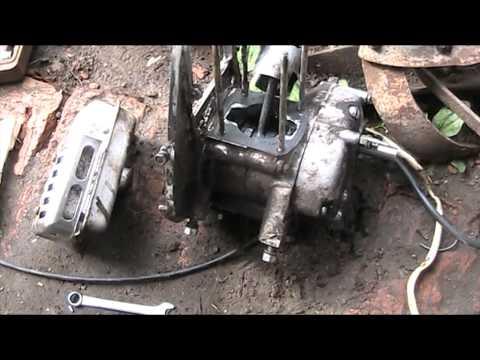 видео: Культиватор Крот двигатель умер поставлен Лифан