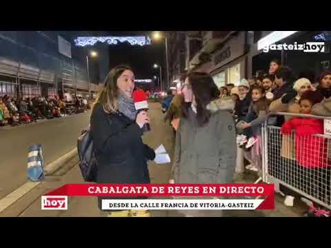 Cabalgata de Reyes Magos 2020 en Vitoria