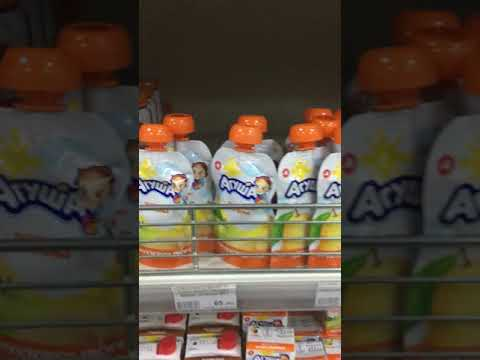 Цены на продукты в супермаркете Южно-Сахалинска.