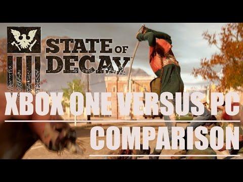 Сравнение графики в обновленной версии State of Decay для Xbox One с оригинальным проектом на PC