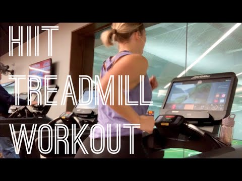HIIT TREADMILL WORKOUT FOR BEGINNERS | high-intensity interval training
