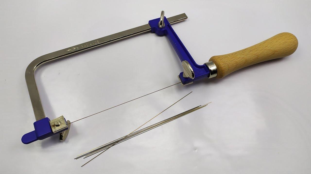 منشار يدوي و شفرات لتقطيع الاشياء الدقيقة Adjustable Hand Saw Frame Saw Bow For Wood Metal Youtube