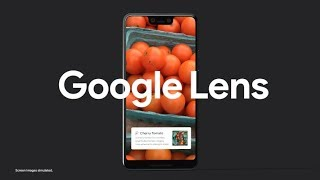 The Pixel 3: Google Lens - Get it now!