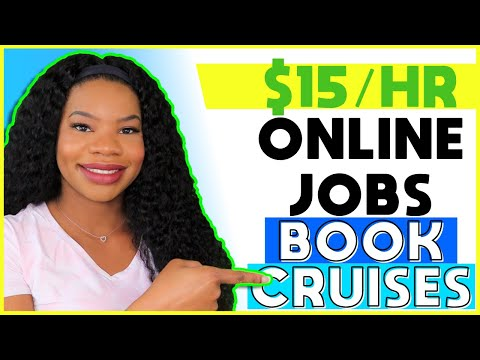 🚢 *APPLY ASAP!!* $15 HOURLY Cruise Guest Services Rep Work-From-Home Jobs! Help Folks Book Cruises!