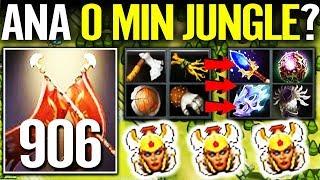 HOW TO JUNGLE IN 7.22 Dota 2!! +906 DMG Legion Commander Farmming Skill by ANA