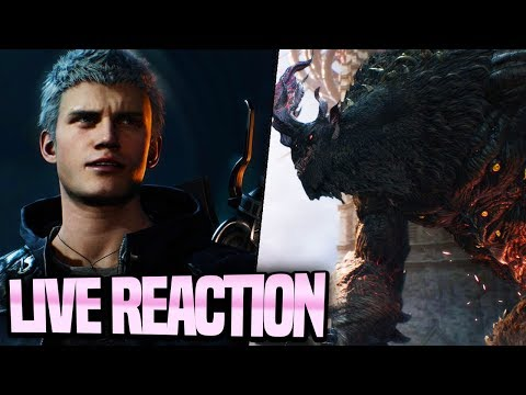 NEW DEVIL MAY CRY 5 FINALLY!! E3 2018 Devil May Cry 5 Live Reaction