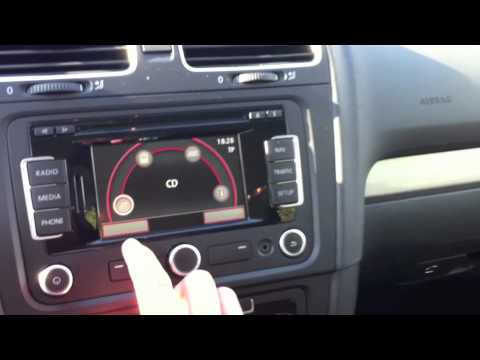 vw golf vi rns 315 youtube. Black Bedroom Furniture Sets. Home Design Ideas
