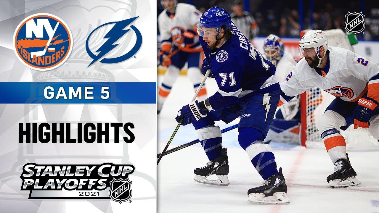 Semifinals, Gm 5: Islanders @ Lightning 6/21/21 | NHL Highlights