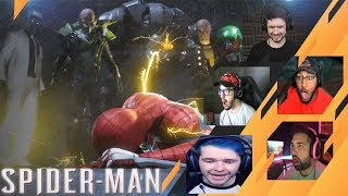 Gamers Reactions to the Sinister Six | Marvel's Spider-Man