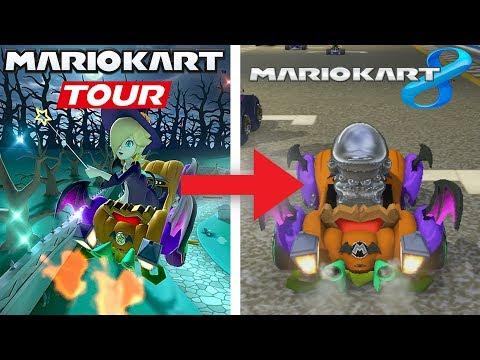 What if Mario Kart Tour Karts Were in Mario Kart 8? |