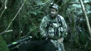 Archery black bear hunt North Coast, California