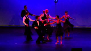 Argentine Tango Team - JRDA SHOW 2013 - 'A Night at the Movies'