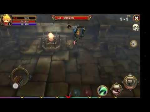 (모바일게임)드래곤을 만나다 플레이 영상