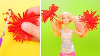 NEVER TOO OLD FOR DOLLS || BARBIE DOLL DIY CRAFTS AND HACKS
