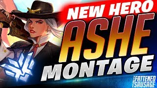 #1 Best ASHE Moments MONTAGE! NEW HERO Funny & Crazy Moments