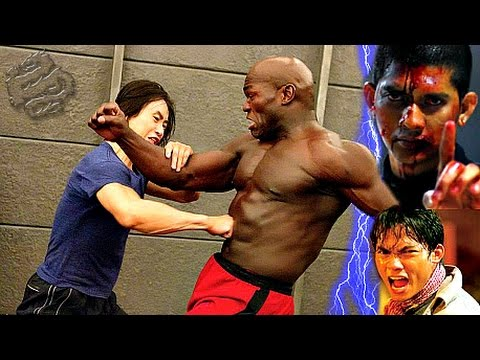Tiger Chen VS. Tony Jaa VS. Iko Uwais☯Triple Threat Martial Artists Fighting Clip Compilation!