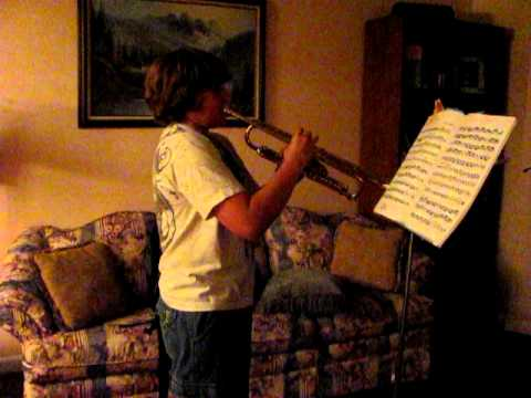 Playing with Braces sucks  Mendez Czardas Olds Trumpet