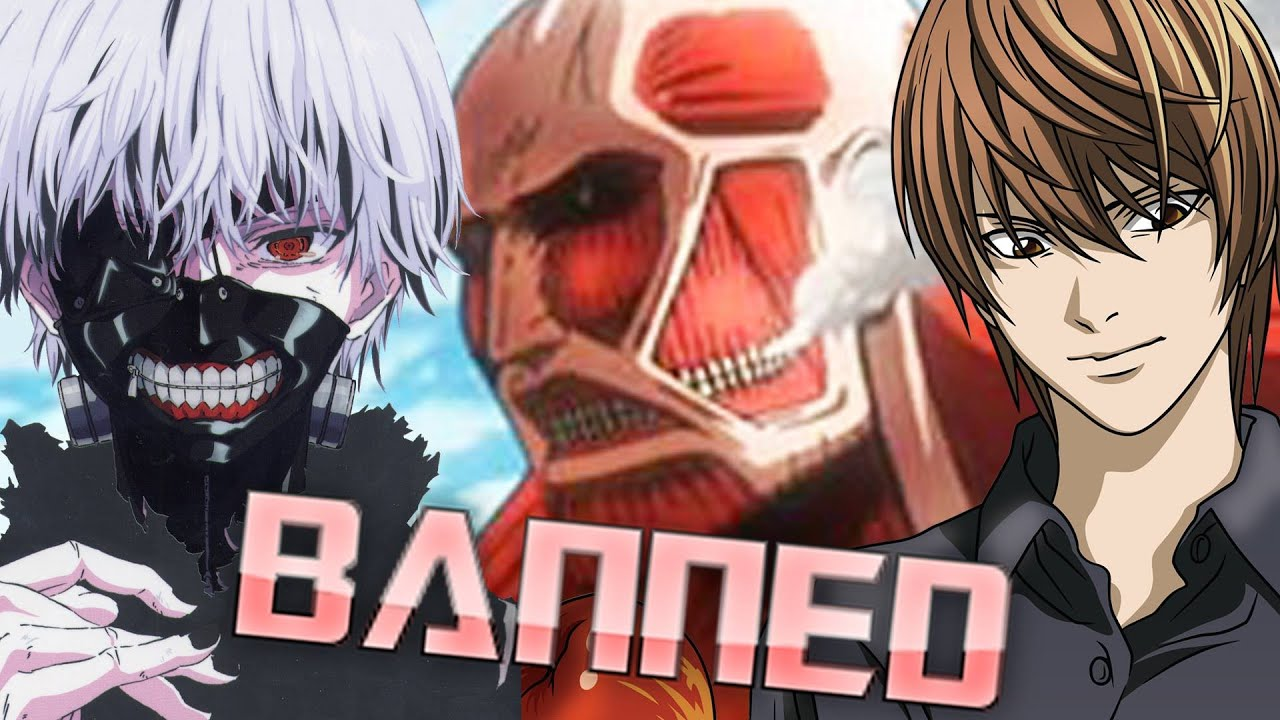 RANT: China Bans Attack On Titan, Tokyo Ghoul, Death Note