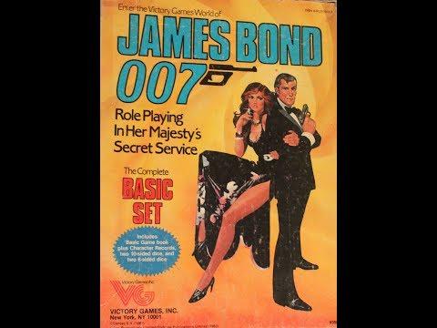 What's Inside - James Bond 007 Basic Set RPG (1983, Victory Games)