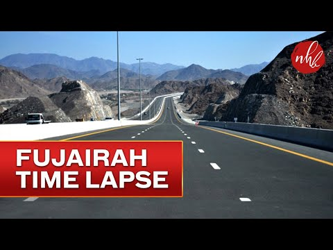 Dubai to Fujairah Road Trip | Time lapse