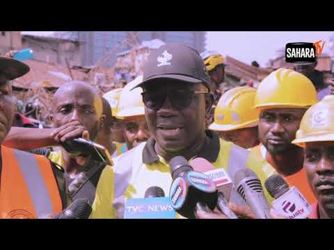 Lagos School Building Collapse: Rescue Operation Ends As 43 Rescued Alive