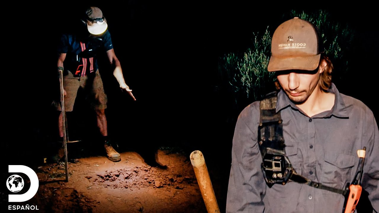 """Parker """"reclama"""" terreno en Australia   Fiebre del Oro: El desafío de Parker   Discovery En Español"""