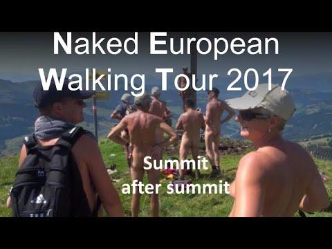 Naked European Walking Tour (NEWT) 1 august 2017