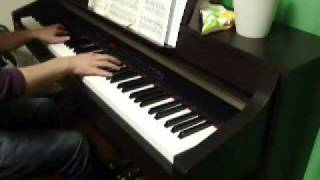 【ピアノ】アシタカとサン ~もののけ姫~ (久石譲)