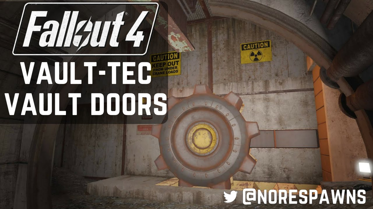 Fallout 4 Vault Tec Workshop Sealed Vault Exits Amp Doors