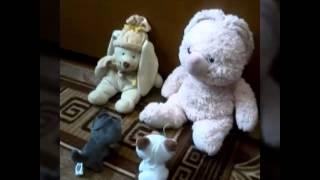 История про одинокого котенка| Видео с игрушками#2